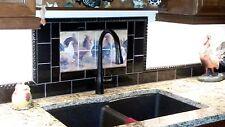 Art Mural Ceramic Rooster Hen Backsplash Tile #400