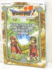 DRAGON QUEST VII 7 Eden no Senshitachi Hiden Final Guide w/Map 3DS Book SE85*
