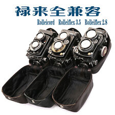 Rolleiflex、Rolleicord TLR Camera  Leather Soft Case /Protective bag