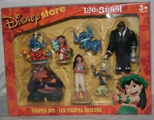 RARE NEW Lilo & Stitch figures Set Disney Store Figurines Cake Topper