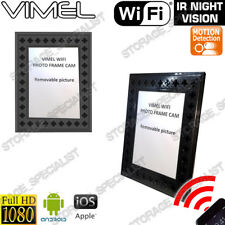 Wireless Security Camera IP Photo Frame Long Battery Life Home no Spy Hidden