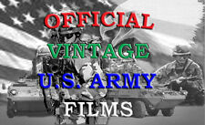 A NATION BUILDS UNDER FIRE VINTAGE ARMY FILM DVD