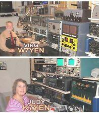 YAESU FT-2000 FT-2000D AMATEUR HAM RADIO DATACHART EX LARGE GRAPHIC INFO (INDEX)