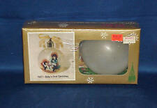 VINTAGE KRISTY CHRISTMAS TOLE PAINTING ORNAMENT KIT 7027 BABY'S FIRST CHRISTMAS