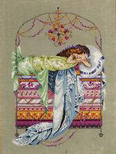 Cross Stitch Chart / Pattern ~ Mirabilia Elegant Sleeping Princess #MD123