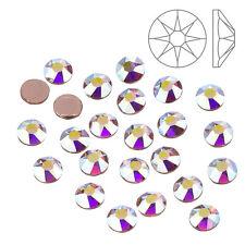 Cristales de Swarovski Hotfix 2078 Reverso Plano Rosa Claro AB SS20-Paquete de 24 (K66/6)