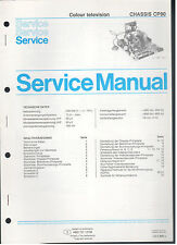 Service MANUAL PHILIPS Colour TV chassis cp90 (85)