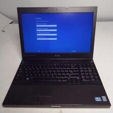 """Dell Precision M4600 15.6"""" Laptop Core i7-2820QM 2.30GHz 8GB 750GB HD Win10 Pro"""