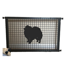 Pomeranian Dog Metal Puppy Guard
