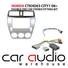Honda City 2008 Car Stereo D/Din Fascia & Steering Wheel Interface CTKHD03