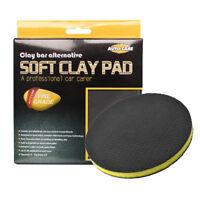"Autocare Clay Bar Pad 6"" DA Polisher Pad Car Detailing Wash Clean Sponge Pad"