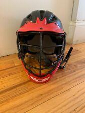 Cascade Lacrosse Helmet Adult White Mll Offical Athletic Gear, Meets Nocsae Std