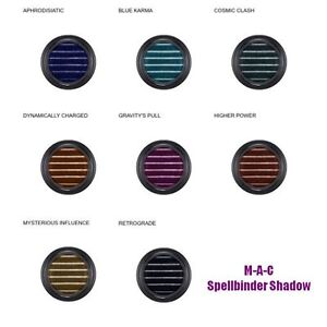 M·A·C MAC New SPELLBINDER Shadow Choose You Own Color Blue Brown Black Purple