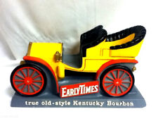 Early Times bar sign Kentucky bourbon whiskey1904 Pierce arrow car chalkware gj9