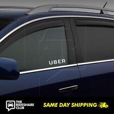 UBER Driver Vinyl Decal Sticker Side Door Window Rideshare Sign
