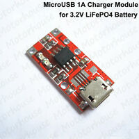 Micro USB 3.6v Charger Module 3.2v LiFePO4 Battery 18650 14450 Charging Board