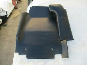 Porsche 914 GOOD USED Seat Back Pad 1972-76 DRIVERS  Side Black Vinyl GENUINE