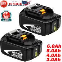 2Pack BL1850B-2 For Makita BL1860B-2 18-Volt LXT Lithium 6.0AH Battery BL1830B-2