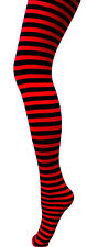 Children's Stripe Tights-11 Colours-Kids Halloween Tights-Fancy Dress Tights