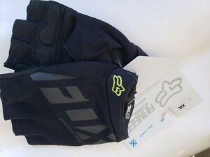 Fox Racing Ranger Gel Unisex Short Finger Glove: Black 2XL / Guantes FOX