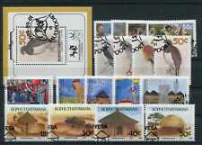 Bophuthatswana Jahrgang 1989 gestempelt in den Hauptnummern kompl. .....2/1549