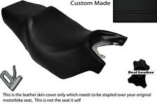 BLACK STITCH CUSTOM FITS CAGIVA ROADSTER 125 DUAL LEATHER SEAT COVER ONLY