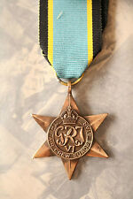 WW2 GRI VI AIR CREW EUROPE STAR BRITISH ALLIES COMMONWEALTH AIRCREW MEDAL RAF