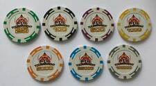 N° 7 Poker Fiches 14 gr. in clay.  PTW Tournament chips  - cod. SAMPLEPTW