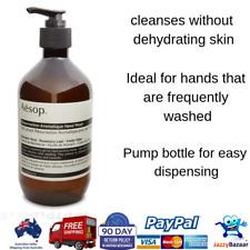 Aesop Resurrection Aromatique Hand Wash 500ml Skin Soap Care Cleansing Gel