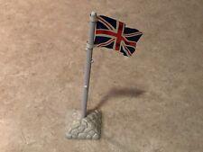Marx Battleground Tin British Flag