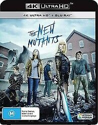 The New Mutants 4K UHD & Blu-ray, Brand New & sealed