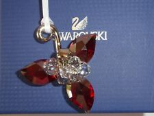 Swarovski Red Siam Satin Crystal Winter Berries 5119879 New Retired