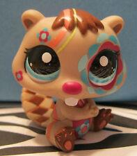 Littlest Pet Shop #2134 Rainbow Tattoo Beaver