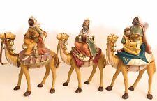 Wise Men on Camels Three Kings Nativity Scene Set Tres Reyes Magos para Pesebres