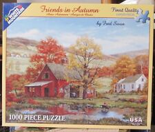 FRIENDS IN AUTUMN BY FRED SWAN - Complete - WHITE MOUNTAIN PUZZLE
