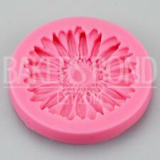 Pretty Gerbera Flower Silicone Mould Chocolate Cake Baking Icing Wedding Floral