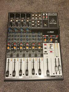Mischpult Behringer Xenyx 1204USB USB Audio Interface Mixer 12-Kanal 2/2 Bus