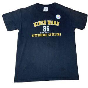 Pittsburgh Steelers Hines Ward #86 Football Men's T-Shirt Tee SS XL NFL Big Man