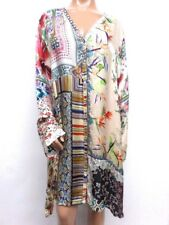 NWT Johnny Was Silverette Long Cardigan Silk Tunic -  2X - OL10330518