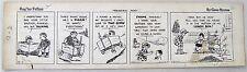 Reg'lar Fellers Original Comic Strip Art, Gene Byrnes, Dec 2, 1935 Treasure Hunt