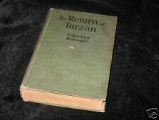 The Return of Tarzan- Burroughs - A.L. Burt -1915