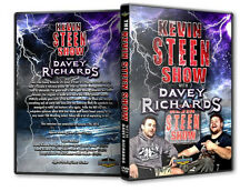 The Kevin Steen Show with Davey Richards DVD, PWG ROH TNA The American Wolf CZW