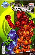 Us cómic Pack Gearz 1-4 Blue Water Comics mgx