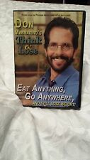Think and Lose, Weight Loss, By Don Mannarino DVD & CD