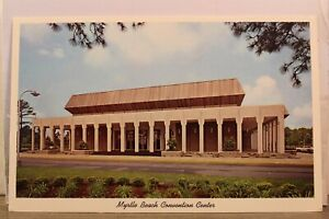 South Carolina SC Myrtle Beach Convention Center Postcard Old Vintage Card View