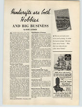 1947 PAPER AD Herkimer OK Super 29  CO2 Gas Gasoline Engine Super Wasp Micro Co