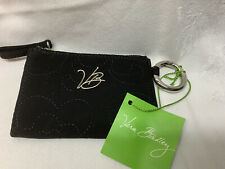 **NWT Vera Bradley Black Pocket ID/Wallet/Card Holder