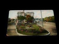 Vintage Postcard,MINNEAPOLIS, MINNESOTA, MN,Flower Garden,Hennepin & Lindale Ave