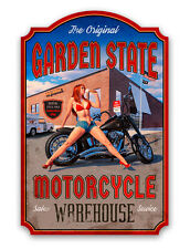 INDEPENDENCE DAY SHAPED HILDEBRANDT METAL SIGN PINUP HAND SIGNED FREE PRINT