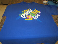 Walt Disney 5K Family Fun Run T-Shirt - Blue - Large - 20 Years
